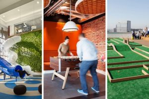 The Latest in Playgrounds… I mean Offices