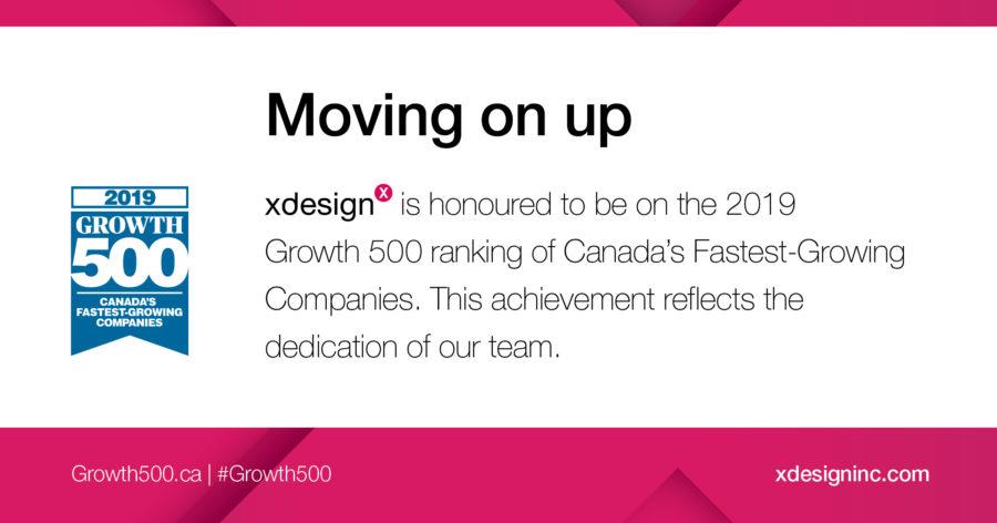 2019 Growth 500 Ranking